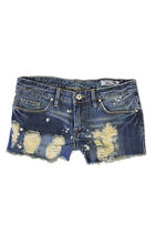 blue Blank Denim shorts