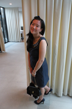Jenny Han dress - Chanel purse