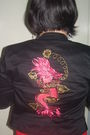 Ramdom-dress-xoxo-jacket-lane-crawford-boots-claires-earrings
