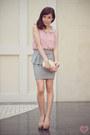 Clutch-sm-accessories-bag-loafer-asian-vogue-pumps-peplum-cotton-on-skirt