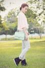 Silver-denim-miss-sixty-jeans-light-blue-quilt-sm-accessories-bag