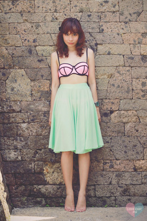 bubble gum Triangl swimwear