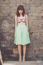bubble gum Triangl swimwear
