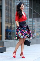Skirt skirt - Shoes heels