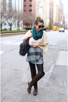 Sweater sweater - 50 off OTK Boots boots - scarf scarf - Bag bag