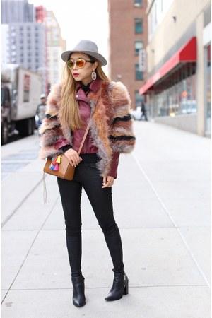 Moto Jacket jacket - 40 off coat coat - hat hat - Bag bag