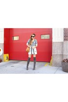 only 26 cardigan cardigan - boots boots - Bag bag - sunglasses sunglasses