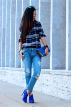 CASUAL WEEKEND PLAID ON DENIM