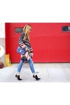 40 off coat coat - boots boots - Jeans jeans - Bag bag