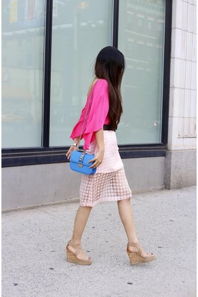 on sale Skirt skirt - Bag bag - sunglasses sunglasses - Earrings earrings