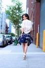 Shirt-shirt-bag-bag-shorts-shorts-watch-watch-heels-heels-top-top