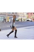 cardigan cardigan - boots boots - Bag bag - shorts shorts