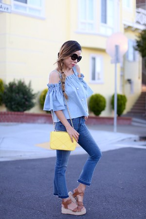 Top top - 88 Jeans jeans - Bag bag - sunglasses sunglasses - sandals sandals