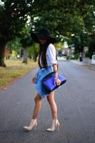 Jacket jacket - boots boots - shirt dress dress - hat hat