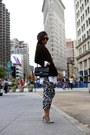 Shirt-dress-dress-blazer-blazer-sunglasses-sunglasses-heels-heels