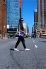 Blazer-blazer-bag-bag-sunglasses-sunglasses-watch-watch-slip-on-flats