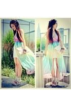 maxi nastygal dress