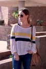 Gap-jeans-tobi-sweater-victorias-secret-shirt-michael-kors-bag
