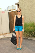 lucca couture shorts - t by alexander wang top