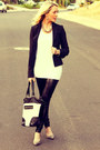 Faux-leather-windsor-leggings-fitted-bcbg-blazer-adorable-forever-21-bag