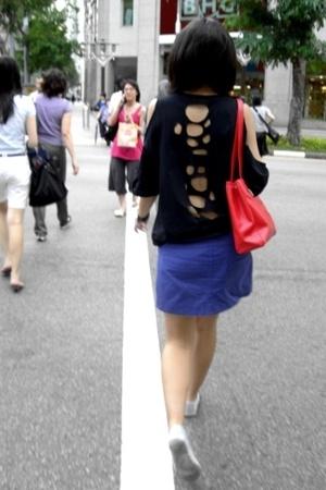 Cutout tee @ mynameiswillly.blogspot.com