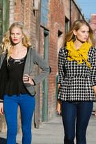Shasa jeans - Shasa jacket - Shasa sweater - Shasa scarf - Shasa blouse