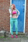 Aquamarine-skinny-mint-falmers-jeans-off-white-river-island-jacket
