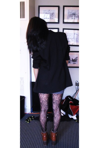 Urban Outfitters tights - Jeffrey Campbell shoes