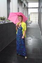 H&M heels - maxi dress Charlotte Russe dress