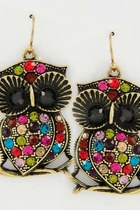 Owls-earrings