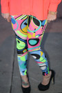 Neon-h-m-top-neon-leggings-shawtynstilettos-leggings