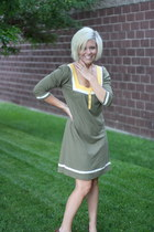 olive green Roxy dress