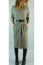 heather gray vintage from etsy httpsheheartsvintagecom dress - black Jeffrey Cam