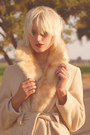 Beige-wool-long-coat-70s-vintage-coat-jacket