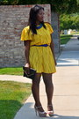 Poka-dot-vintage-dress-vintage-vintage-purse-steve-madden-heels