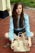 denim acid rue21 blouse