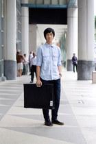 CC-OO shirt - Uniqlo pants - Danish design watch