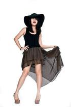 asos hat - Topshop heels