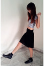 Sky-blue-crop-top-topshop-top-black-skirt-black-studded-leather-h-m-sneakers