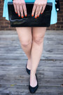 Vintage-dress-vintage-purse-forever21-cardigan-h-m-flats