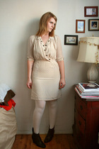 Lewis dress - Nine West stockings - Rachel Comey boots