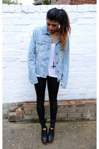 sky blue Youwearfashion jacket