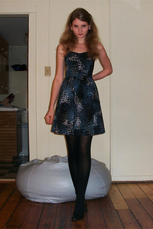 Elle for Kohls dress - kohls shoes - Target tights
