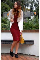 sam edelman boots - Akira dress - H&M blazer - 31 Phillip Lim bag