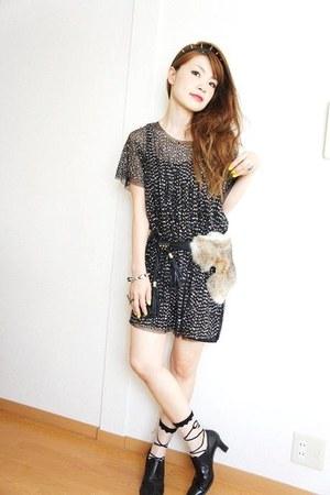 Zara dress - Gilfy accessories