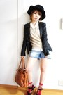 Forever21-shoes-forever21-jacket-anap-pants-vintage-blouse
