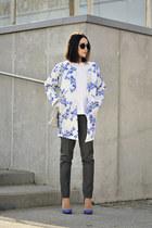floral print coat coat