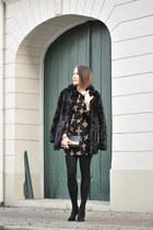 faux fur new look coat