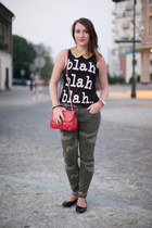 new look blouse - she s a riot accessories - Zara pants