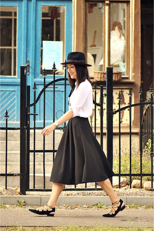 midi skirt new look skirt - lace up sarenza shoes